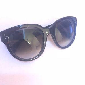 fae8bd8b953 Celine Accessories - Celine Sunglasses Audrey Havana